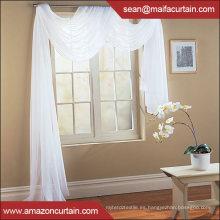 Venta al por mayor nueva cortina pura de la bufanda sólida del diseño clásico americano
