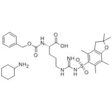 N-ALPHA-BENZYLOXYCARBONYL-N'-2,2,4,6,7-PENTAMETHYLDIHYDROBENZOFURAN-5-SULFONYL-L-ARGININE CYCLOHEXYLAMINE CAS 200190-89-2