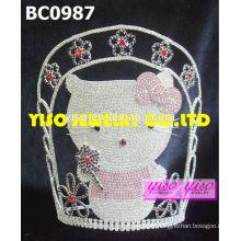 Belle tiara de concours de beauté