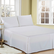 Classic Hotel Plain Cotton Pleated Bed Skirt