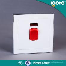 Commutateur en laiton haut d'eau de l'appareil de chauffage 45A de climatiseur matériel de PC d'Igoto 45A 250V