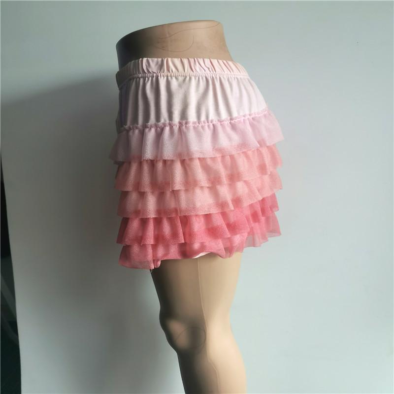 Chiffon 100 Polyester Sweet Girls Dress Pants