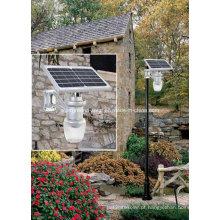 Solar jardim luz 5W Solar LED luz luz de maçã