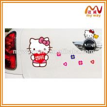 Adesivos de parede japonês Kawaii, adesivo de decoração de carro, adesivos de parede para salas para crianças