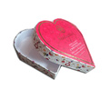 Custom Heart Shape Gift Paper Box