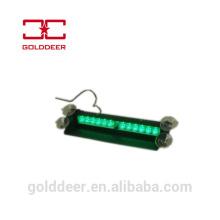 Flash luces del vehículo emergencia camión verde de luz Led