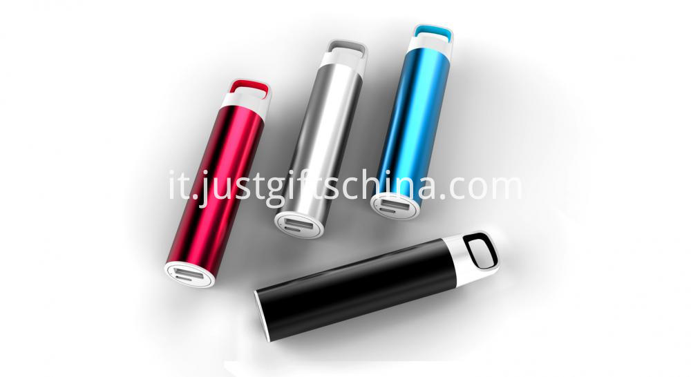 Promotional Cylinder Shaped Power Bank