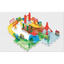 Trens Set Track Toy Blocks Jogos