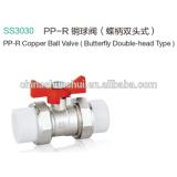 SS3030 PP-R Brass Ball Valve