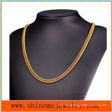 Europäische und amerikanische Heiß-Verkauf Doppelte gewebte runde Halskette Männer dicke Kettenhalskette (NL2619)