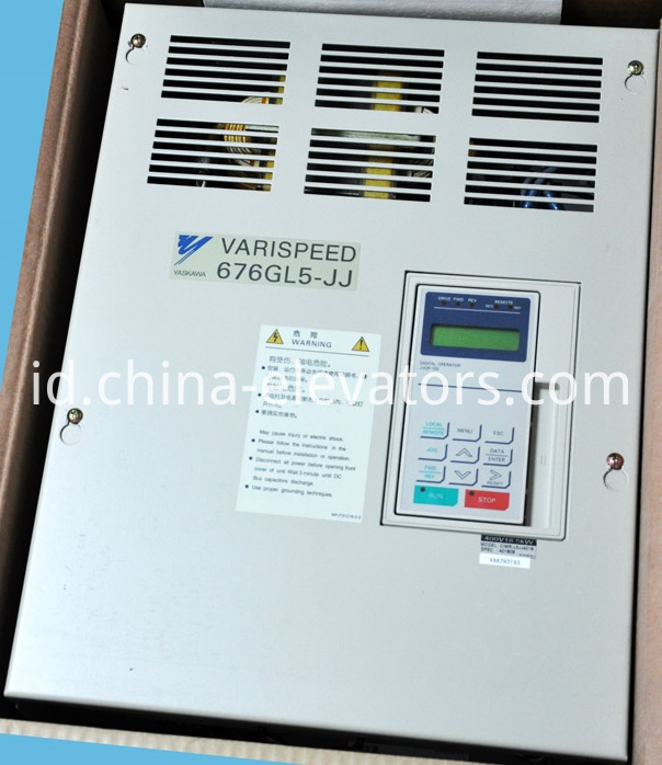 YASKAWA 676GL5-JJ Inverter for Elevators CIMR-L5JJ4018 / 18.5kW