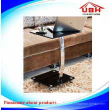 Metal Frame Glass Coffee Table