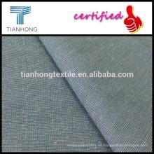 97 control micro del spandex del algodón 3 patrón llano tejido para los pantalones slim chino flaco