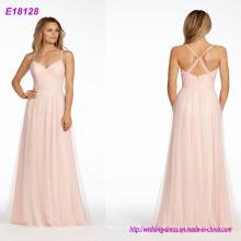 Vestidos de dama de honor de bodas de alta calidad Vestido de noche del vestido del vendaje