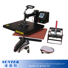 4 in 1 Digital Single Color Transfer T-Shirt Sublimation Machine
