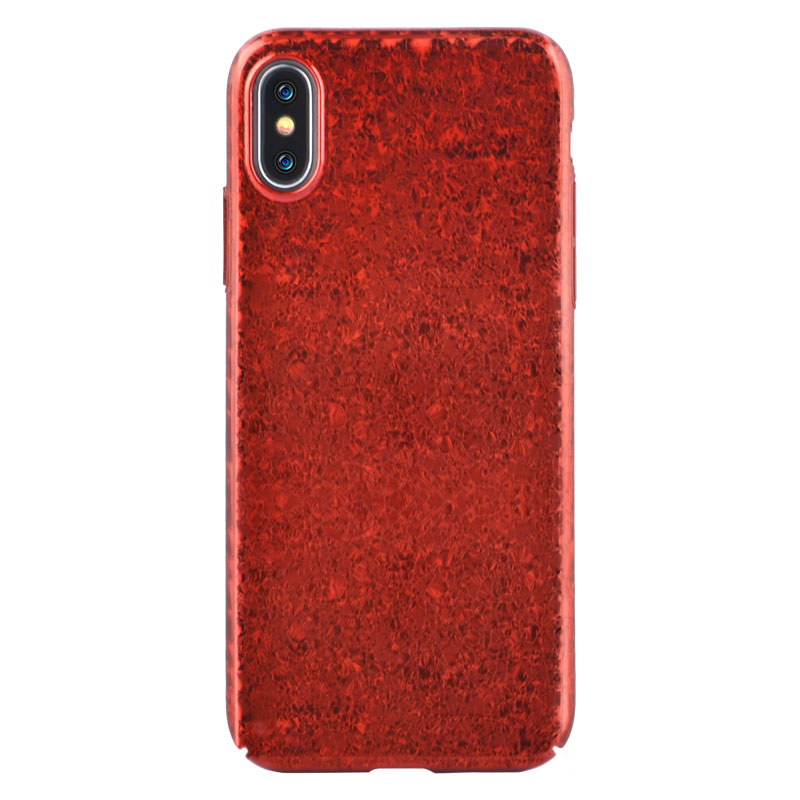 Red Iphone x Cover Case