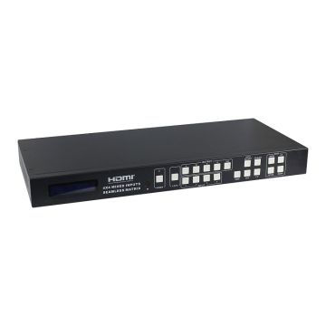 HDMI&VGA&AV Mixed Inputs Video Processing Matrix Switcher 4X4