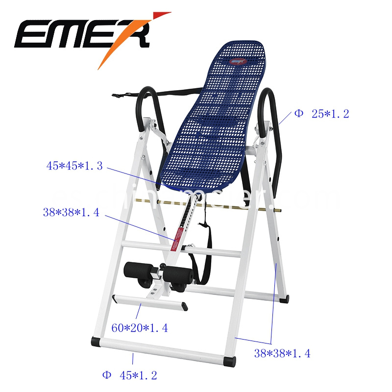 Foldable 180 degree inversion table