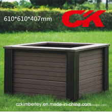 Cheap and Fine, Eco-Friendly, Green WPC Flower Box