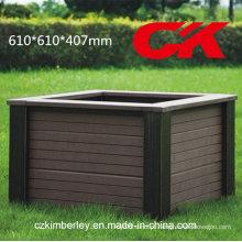Barato e fino, Eco-Friendly, caixa verde da flor de WPC