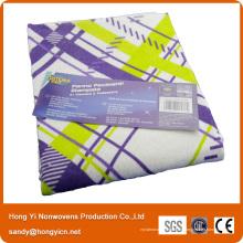 De Bonne Qualité Serviette de nettoyage de fibre de bambou de tissu de Nonwvoen perforée par aiguille