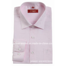 Men's Spring/Autumn Formal Business Long Sleeve Cotton Shirt