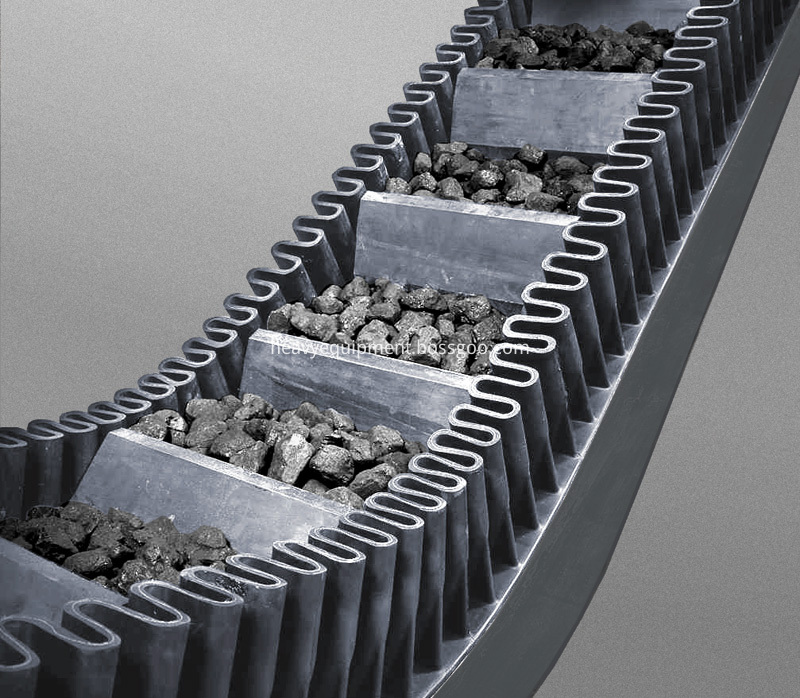 Corrugated Belt Conveyor