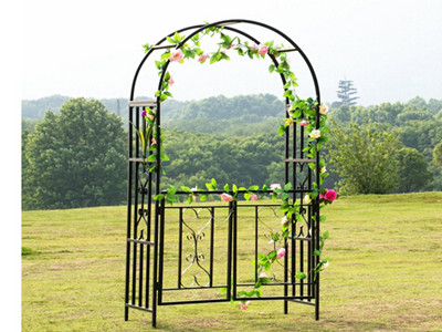 Black Coated Gate