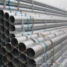 Astm a134 verzinkt runde Stahlrohr von Liaocheng Shandong China Lieferant