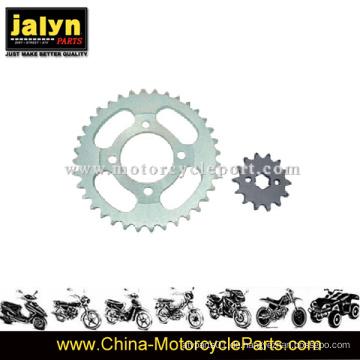 Motorrad vorne und hinten Kettenrad für Motorrad Ersatzteile