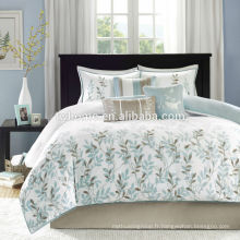 Ensemble de literie floral jaune Madison Park Meadow Comforter
