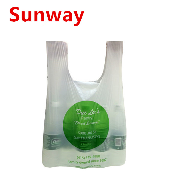 Compostable T Shirt Bags