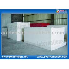 Panneau de mousse de PVC / feuille de mousse de PVC pour l'usage de la publicité
