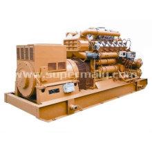 Generador de energía de biomasa de 30 kW con garantía global