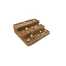 3 Tiers Velvet Ring Box Display Tray Großhandel (TY-YR3T)