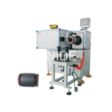 Big Size Stator Horizontal Type Automatic Lacing Machine