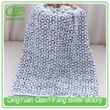 MOB028 100% cotton muslin customized printed blanket, best price 4 layer muslin blanket in china