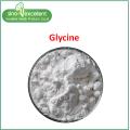 Pó fino de aminoácido glicina