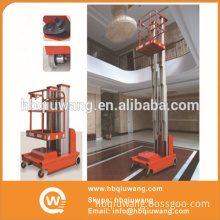 Self propelled electric lift ladder