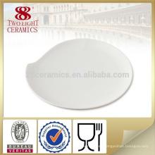 Vajilla de porcelana exclusiva, platos de servicio personalizados