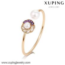 51733 joyería Xuping diferentes colores de joyería de cristal artificial, brazalete de moda