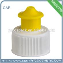 Esencia purificadora Nueva tapa plástica de la tapa del tirón del plástico del uso fácil del nuevo diseño