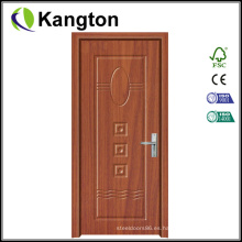 Diseño moderno de la puerta de madera interior de PVC (puerta de madera)