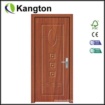 PVC Interior Wooden Door Modern Design (wooden door)