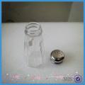 72gram sal e pimenta shakers garrafa de vidro tempero garrafa