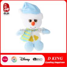 Brinquedo de pelúcia boneco de neve Whiite presente de Natal de alta qualidade