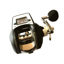 DRC002 высокое качество матовый черный цифровой Мультипликаторной рыболовной катушки для соленой воды