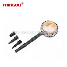 long handle clean high pressure car wash foam brush contact adapter