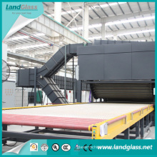 Flat and Bent Bi-Direction Glass Tempering Furnace for Sale with Advanced Heating Technology