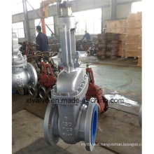 ANSI Industrial Usage Cast Steel Wcb Flange End Gate Valve